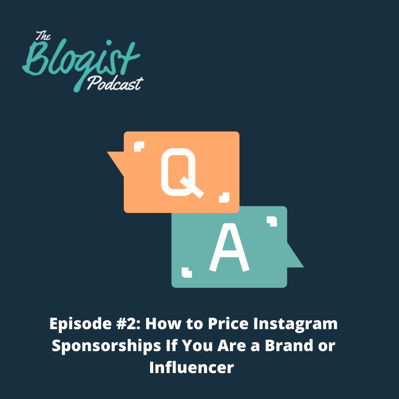Cover art of podcast episode How to Price Instagram Sponsorships if You are a Brand or Influencer