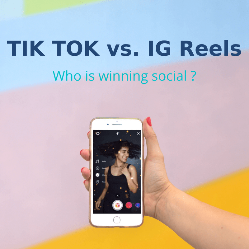 Art for post Who's winning social, TikTok or IG Reels?