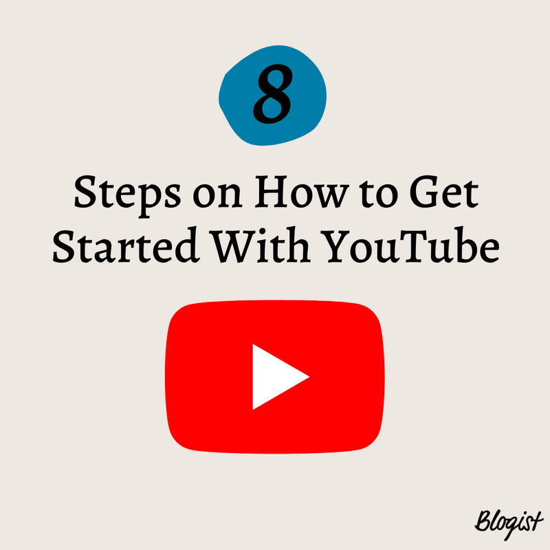 Art for post 8 Steps on How to Get Started With YouTube