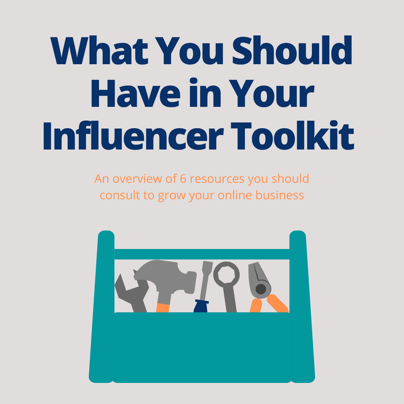 Art for post 6 Tools You Should Have in Your Influencer Toolkit